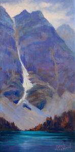 1614-12x6-Glimpse of Moraine