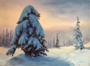 1720 - 18x24 - Snow Catcher