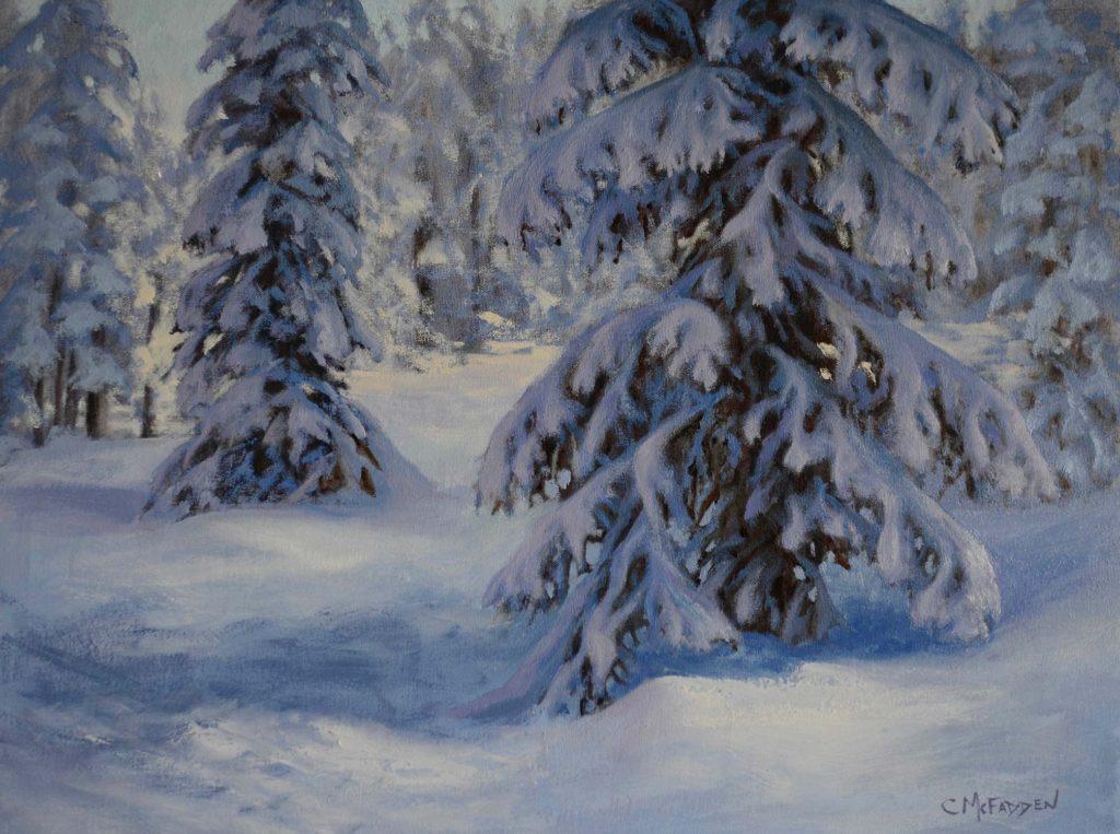 1906 - 18x24 - Winters Splendor